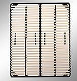 i-flair - Lattenrost 180x200 cm, Lattenrahmen - für alle Matratzen geeignet