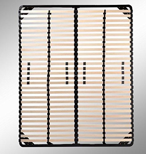 Lattenrost 160x200 cm, Lattenrahmen - für alle Matratzen geeignet