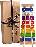 Xylophon - ein großes Musikspielzeug für Kinder & Kinder - das beste Glockenspiel im Sortiment - perfekt für junge Musiker; Lehrinstrument für Schlaginstrumente mit farblich abgestimmten Stimmstäben und Holzhammerschlägen - beste Qualität seit 1795
