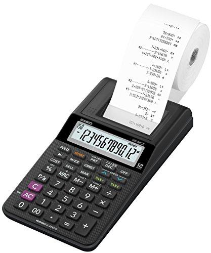 Casio HR-8RCE Drucker, 12 stelliger Taschenrechner.