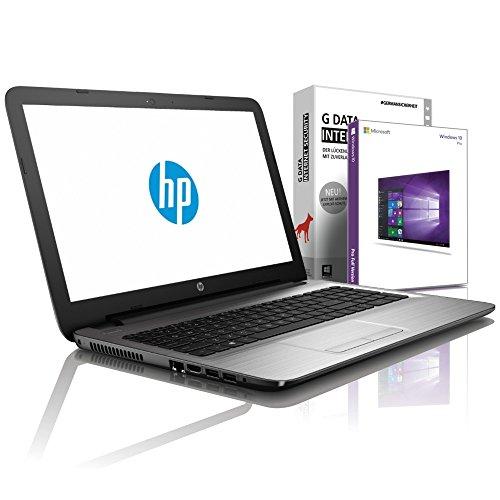 HP 255 G7 (15,6 Zoll HD) Notebook (Intel Core i3-7020U, 8GB DDR4, 256 GB SSD, DVD±R/RW, Intel HD Grafik mit HDMI, Bluetooth, WLAN, USB 3.0, Windows 10 Prof, MS Office 2010) Schwarz, #6120
