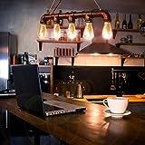 CCLIFE Wasserrohr industrie Hängelampe Pendelleuchte Lampe Kupfer