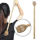 jiamins Rückenkratzer aus Holz, Schaber hinten Traditionelles und Set Massage Entspannend für lindern Juckreiz