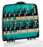 ENT 12-tlg. DURACUT HM Fräser Set in bruchfester Kunststoffkassette - Oberfräser mit Schaft 8 mm