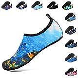 Deevike Aqua Socken Wasserschuhe Barfuß Yoga Socken Schnell Trocken Surfen Schwimmen Schuhe für Damen Herren
