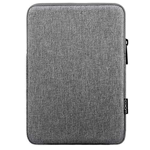 MoKo 9-11 Zoll Hülle Passend für 9-11 Inch Tablet, Sleeve Schutzhülle aus Polyester Tablet Tasche Geeignet für iPad Air 3 10.5' 2019, iPad Pro 11 2018, iPad 9.7 2018/2017 - Hell Grau