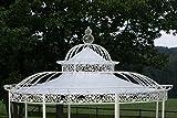 CLP Dach für Luxus Pavillon ROMANTIK (Durchmesser: 350 oder 500 cm), Wasserdichte PVC Plane 350 cm, Creme