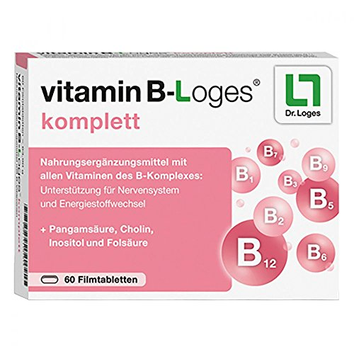 Vitamin B-Loges komplett, 60 St. Tabletten