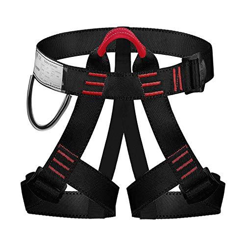 ENJOHOS Babimax Absturzsicherung Sicherheitsgurt Taille Klettergurt CE Zertifiziert für Bergsteigen Sportklettern Baumklettern Feuerwehr Outdoor