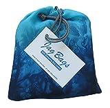 JagBag Innenschlafsack, aus reiner Seide, Standardgröße, türkis
