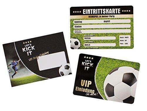Trendhaus trendhaus939302'Let 's Kick it VIP' Einladung Karte