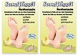 SamtFüssli - Hornhautsocke - Streichelzarte Füße mit nur einer Anwendung DOPPEL-Set DAS ORIGINAL DES TV-LIEFERANTEN!!!
