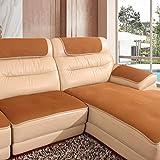 Sofa-Überwürfe Atmungsaktive, Anti-rutsch Neue Technologie Dauerhaft Couch Sitzkissen Geldklammer Für ledersofa Muti-größe Für Kinder Haustiere-B 70x70cm(28x28inch)
