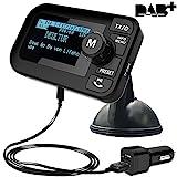 FirstE Auto DAB+ Radio Adapter, 2,3' LCD Tragbares Autoradio DAB mit FM Transmitter+ Bluetooth Freisprecheinrichtung MP3 Player, DAB Digital Radio Tuner mit Dual USB Kfz Ladegerät/TF Play/Aux Out
