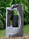Brunnen Springbrunnen FoColonnina für Aussen + Innen 87 cm