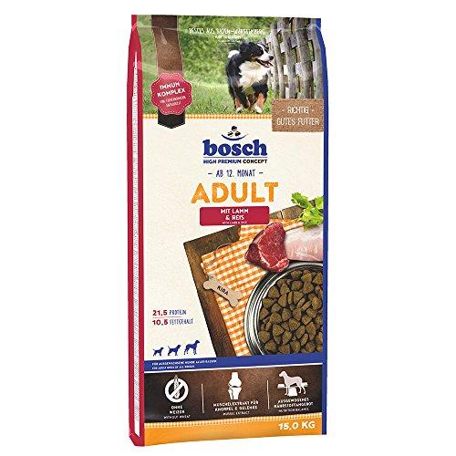 Bosch Hundefutter Adult Lamm und Reis, 15 kg