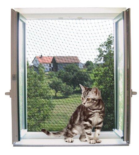 Kerbl 82654 Katzenschutznetz 4 x 3 m, transparent