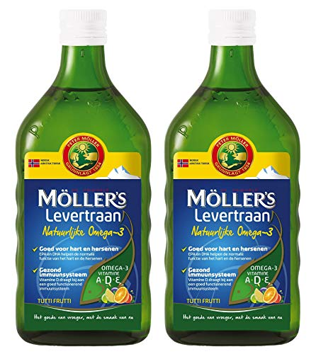 Möller's Omega-3 Lebertran Tutti Frutti (250ml) - 2-Pack