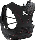 Salomon Leichte Rucksack-Weste fürs Laufen, Hiken oder Radfahren, ADV SKIN 5 SET, Schwarz, Größe: M/L