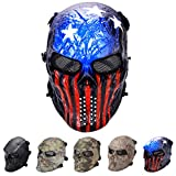 outgeek Tactical Airsoft Maske Full Face Kostüm Maske (Urban), Patriot