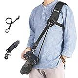 prowithlin WITHLIN Kamera Gurt - Verlängerter Schultergurt mit Sicherheits Tether für Kamera DSLR SLR (Canon Nikon Sony Olympus Pentax, etc.)