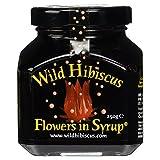 Wild Hibiscus in Syrup 11 Blüten, 1er Pack (1 x 250 g)
