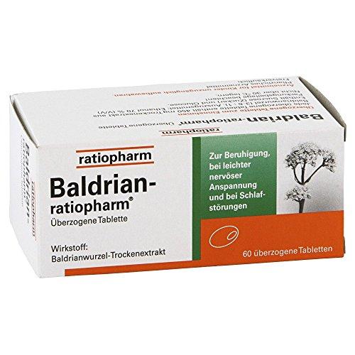 Baldrian-ratiopharm Tabletten, 60 St.