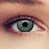 Grüne Farbige Kontaktlinsen 3 Monatslinsen mit Stärke -1,25 Design: Natural Green