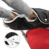 Boonor kinderwagen handschuhe Handwärmer Kinderwagenmuff Funktions-Handmuff mit Fleece Innenseite, Universalgröße für Kinderwagen, Buggy, Jogger, Radanhänger