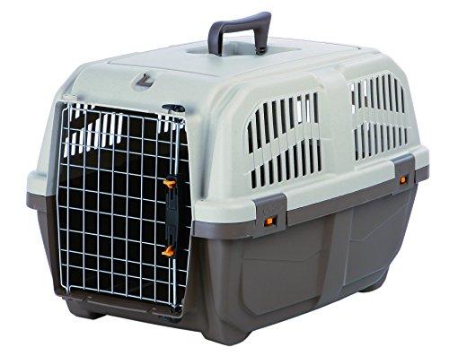 Nobby 72126 Transportbox für mittlere und große Hunde 'Skudo 3 Iata' 60 x 40 x 39 cm