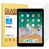 apiker [3 Stück] Schutzfolie für iPad 2018/iPad 2017/iPad Pro 9.7/iPad Air 2/iPad air, iPad 9.7 Panzerglas mit 9H Härte, Bläschenfrei, 2.5D abgerundet Kante, einfach anzubringen