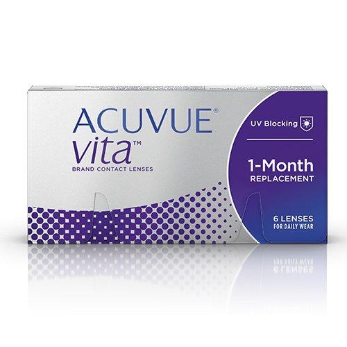 ACUVUE Vita Monatskontaktlinsen, 6 Stück / BC 8.4 mm / DIA 14 / 4.75 Dioptrien