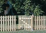 Seifil Holztor für einen klassischen Zaun, 80x100cm