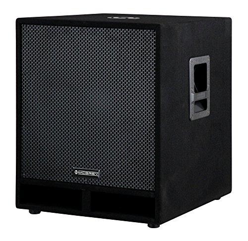 McGrey PAS-118 18' passiver Subwoofer (DJ, PA, Bass Box, 450/900/1800 Watt (RMS/Musikleistung/Peak), Bassreflex-Kanäle, 18' Woofer, SPK-Anschlüsse) schwarz