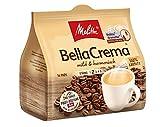 Melitta Gemahlener Röstkaffee in Kaffeepads, 10 x 16 Pads, 100 % Arabica, mild und harmonisch, milder Röstgrad, Stärke 2, BellaCrema