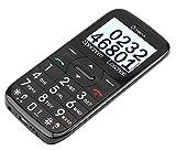 OLYMPIA Happy II Komfort-Mobiltelefon mit Großtasten und Farbe-LCD