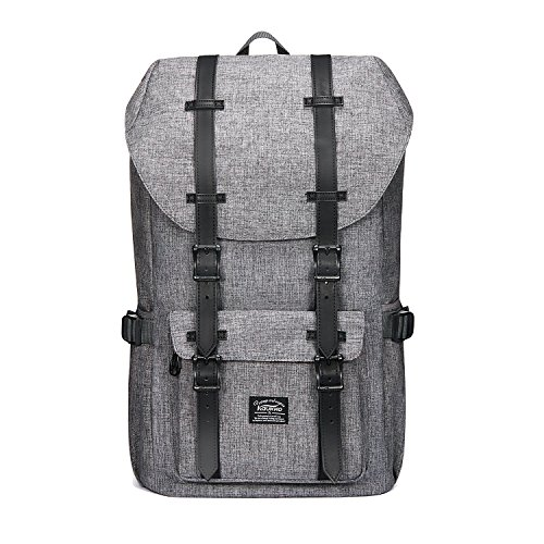 KAUKKO Rucksack Damen Herren Studenten Backpack