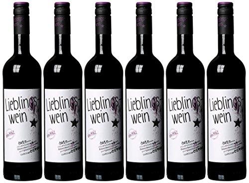 Lieblingswein Cuvee Rotwein Halbtrocken (6 x 0.75)