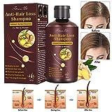 Haarshampoo, AntiHaarausfall, HaarshampooDamen, HaarshampooHerren, Anti Haarverlust Haar-Pflegeshampoo für Verhindern Sie Haarausfall, Fördern Sie Haarwachstum, Haare befeuchten (200mL)