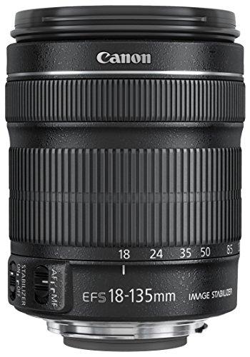 Canon EF-S 18-135mm 1:3.5-5.6 IS STM Zoomobjektiv (67mm Filtergewinde, mit STM-Technologie) schwarz