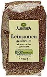 Alnatura Bio Leinsamen geschrotet, 400 g