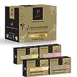 Olivenölseife - Olivenöl Seifenstück für Körper & Gesicht − Luxus Geschenk Set - Griechisches Naturprodukt - 400gr