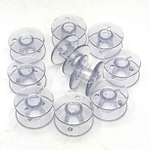 La Canilla  - Brother Spulen Spulen Nähmaschine Packung mit 10 für Singer, Janome, AEG, W6, Medion, Privileg und viele weitere Modelle