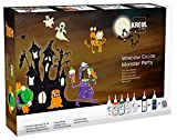 Kreul 42850 - Window Color Monster Party Set