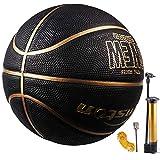 Senston Basketball Größe 7 Basketbälle Arena Training Erwachsene Anfänger Gummibasketball...