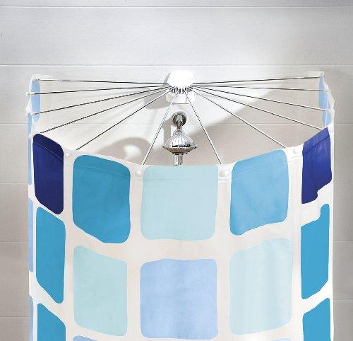 Kleine Wolke 3325100000 Dusche Aufhängevorrichtung Artikel 'Big Spider', 94 x 71 cm