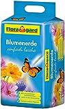 Floragard Blumenerde leicht 25 L - Universalerde für Zimmerpflanzen, Balkon- und Kübelpflanzen - mit Langzeitdünger