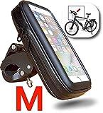"""WESTIC FT-18M Lenkertasche wasserdicht Handyhalterung Fahrrad Motorrad Rahmentasche Halterung Schutzhülle bis 5,0"""" Display kompatibel für Smartphone Handy Navi GPS Apple iPhone Samsung Galaxy etc."""