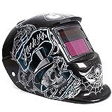 LEXPON Automatik Schweißhelm Solar Welding Helmet Schweißmaske Schweißschirm Schweißschild(Kungfu Cyborg)