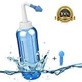 ONCCI 500ml Heuschnupfen Nasendusche / Allergie / Trockener Nase Nasendusche Nasenspülung Nasenreinigung Nase Spülen
